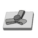 Split Power Presslaschen-Blindniet  Neopren Dichtscheibe Alu/Alu FK 6,4 X 26,5|6,4-12,7mm