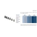 Programmierbares kraftgesteuertes Akku-Blindnietmutternwerkzeug 18 Volt Nut-Bee® LF-Serie
